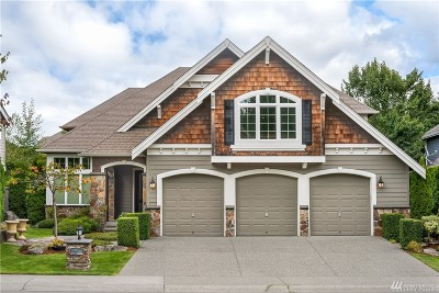 Sammamish Single Family Home For Sale: 27508 SE 30th St