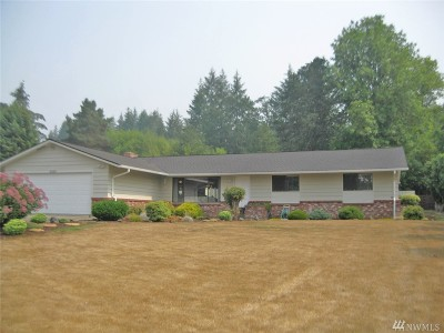 Chehalis Single Family Home For Sale: 2545 Jackson Hwy