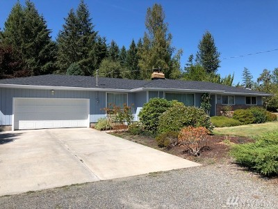 Centralia Single Family Home For Sale: 1647 Military Rd