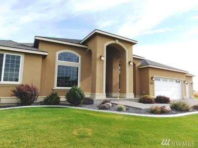 Moses Lake Single Family Home For Sale: 8781 Dune Lake Rd SE