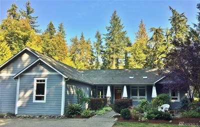 Port Orchard Single Family Home For Sale: 5971 Peterson Rd SE