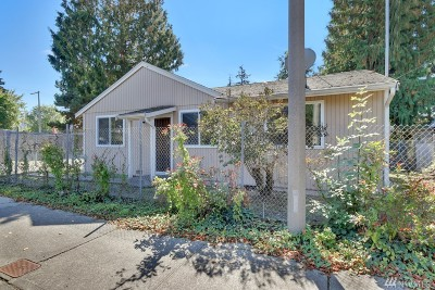 Tacoma Single Family Home For Sale: 816 96th St S