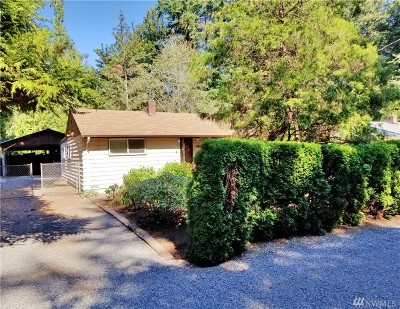 Lake Forest Park Single Family Home For Sale: 3022 NE 178th St