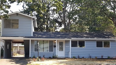 Tacoma Single Family Home For Sale: 7433 S Prospect St