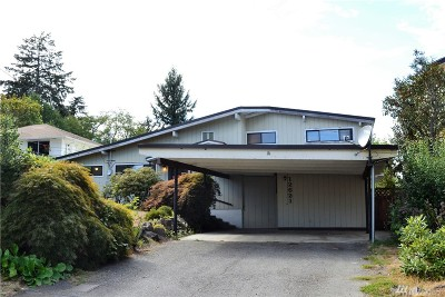 Burien Single Family Home For Sale: 12621 14th Ave SW