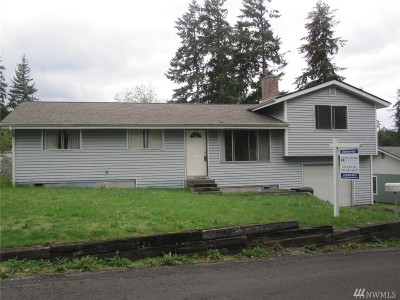Puyallup WA Single Family Home For Sale: $265,000