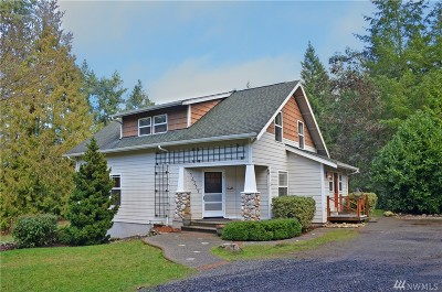 Port Orchard Single Family Home For Sale: 717 SE Pine Rd