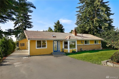 SeaTac Single Family Home For Sale: 4221 S 177th St