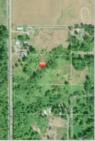 Pierce County Residential Lots & Land For Sale: 34500 8th Ave S