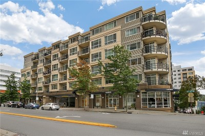 Bellevue Condo/Townhouse For Sale: 300 110th Ave NE #207