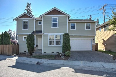 Bothell Condo/Townhouse For Sale: 16332 1st Place W #1