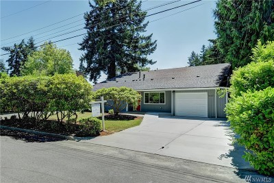Bellevue Single Family Home For Sale: 16611 NE 9th St