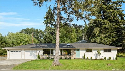 Kenmore Single Family Home For Sale: 18412 80th Ave NE
