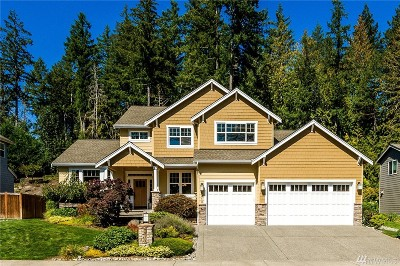 Gig Harbor Single Family Home For Sale: 6413 62nd St NW