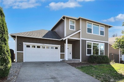 Spanaway Single Family Home For Sale: 2108 182nd St Ct E
