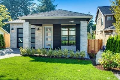 Kirkland Single Family Home For Sale: 9917 130th Ave NE