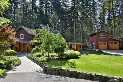 Langley Single Family Home Sold: 4841 Pinewood Cir