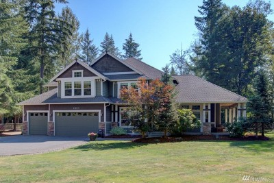Enumclaw Single Family Home For Sale: 24947 SE 367th Wy