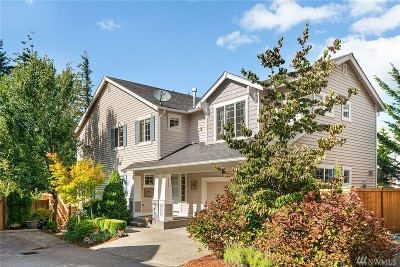 Snoqualmie Single Family Home Contingent: 7223 Silent Creek Ave SE