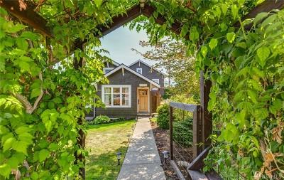 Bellingham Single Family Home Sold: 1000 Newell St