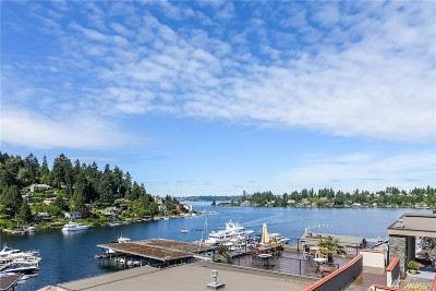 Bellevue Condo/Townhouse For Sale: 9951 Lake Washington Blvd NE #38