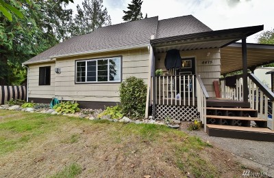 Bremerton Single Family Home For Sale: 4475 NW Newberry Lane