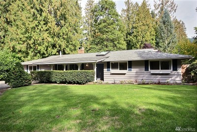 Issaquah Single Family Home For Sale: 24008 SE Tiger Mountain Rd