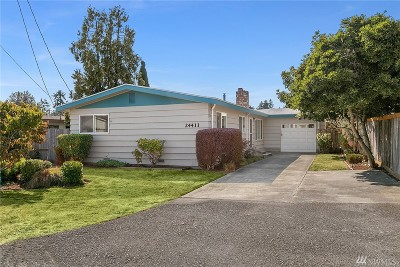 Des Moines Single Family Home For Sale: 24411 15th Ave S