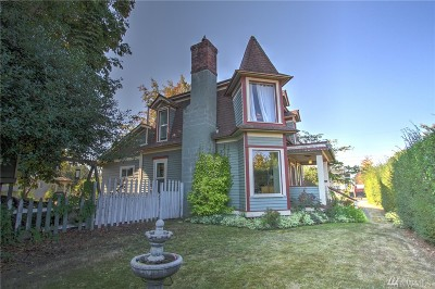 Single Family Home For Sale: 581 Cherry St