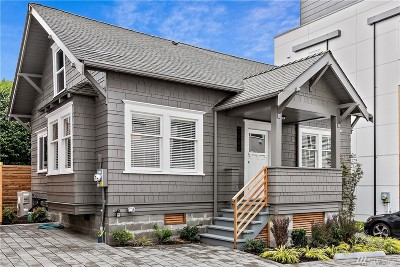 Seattle Single Family Home For Sale: 2609 SW Adams St #B