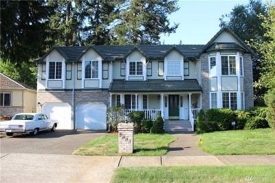 Single Family Home For Sale: 9401 Cook Ct NE