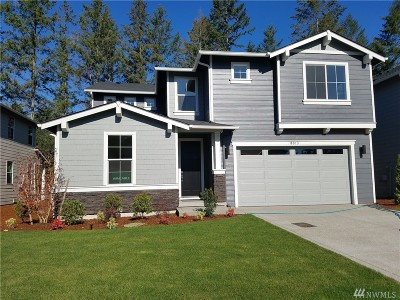Lakewood Single Family Home For Sale: 8013 116th St Ct SW #Lot 8