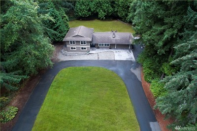 Woodinville Single Family Home For Sale: 14049 159th Ave NE