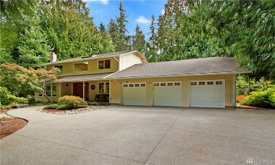 Sammamish Single Family Home For Sale: 19715 SE 21st St