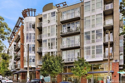Condo/Townhouse Sold: 303 E Pike St #303
