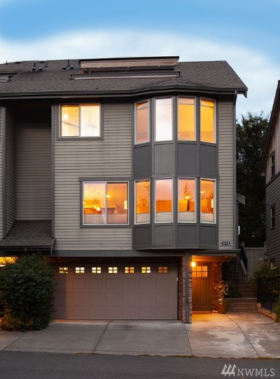 Seattle Single Family Home For Sale: 3033 30th Ave W #A