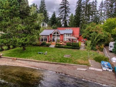 Shelton Single Family Home Contingent: 1131 E Phillips Lake Rd