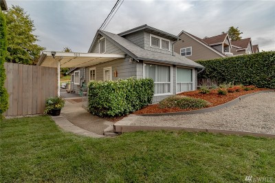 Tacoma Single Family Home For Sale: 5011 Hyada Blvd NE