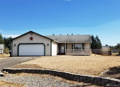 Rochester WA Single Family Home For Sale: $265,000