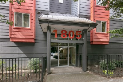 Condo/Townhouse Sold: 1805 Bellevue Ave #204