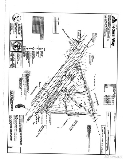 Federal Way Residential Lots & Land For Sale: 27900 Military Rd S