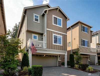 Bothell Condo/Townhouse For Sale: 3411 164th Place SE