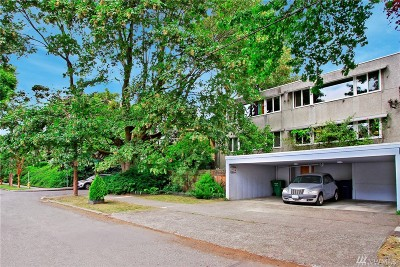 Condo/Townhouse Sold: 801 E Aloha St #4