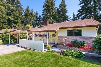 Shoreline Single Family Home For Sale: 18724 12th Ave NE