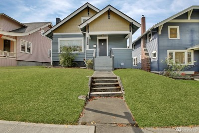 Tacoma Single Family Home For Sale: 1006 N Anderson St