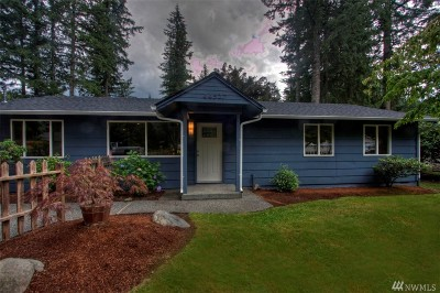 North Bend, Snoqualmie Single Family Home For Sale: 44527 SE 144th St