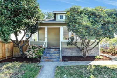 Seattle Single Family Home For Sale: 6924 Carleton Ave S