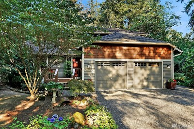 Issaquah Single Family Home For Sale: 15660 263rd Ave SE