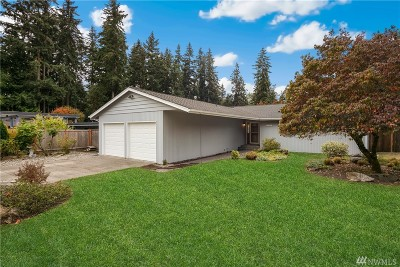 Shoreline Single Family Home For Sale: 20417 13th Ave NW