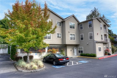 Edmonds Condo/Townhouse For Sale: 20800 72nd Ave W #304
